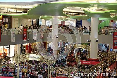 Xmas sales at Singapore Editorial Stock Photo