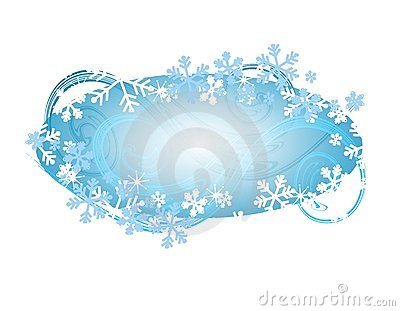 Xmas Snowflake Logo or Label