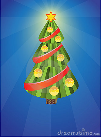 Xmas tree with balls