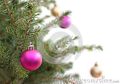Xmas tree baubles