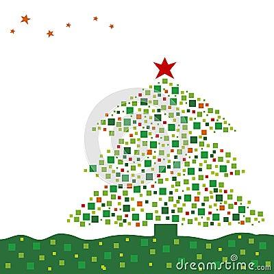 Xmas tree design