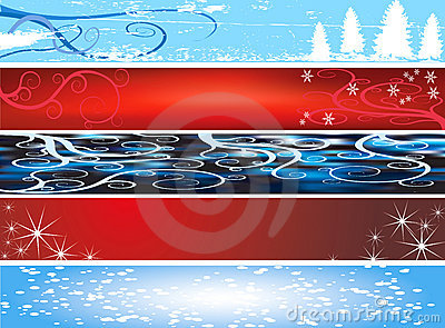 Xmas website banners