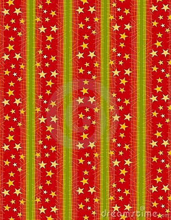 Xmas Wrapping Paper Background Royalty Free Stock