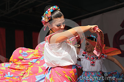 Folkloric mexican dance Editorial Photography