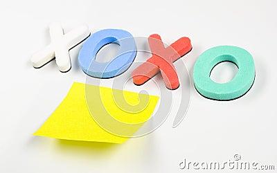 Xoxo and post it