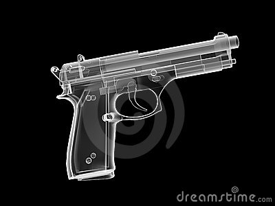 Xray pistolet