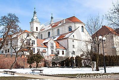 Jesuit church in Piotrkow Trybunalski