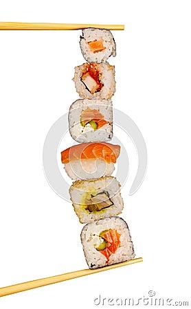 Free XXL Sushi Royalty Free Stock Image - 20720356