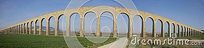 XXVIII century aqueduct Noain, Navarra