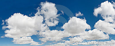 XXXL Blue Sky Cloudscape Panorama