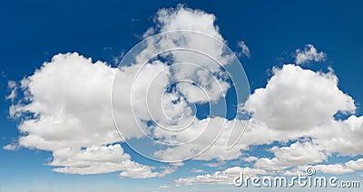 XXXL Blue Sky Cloudscape Panorama