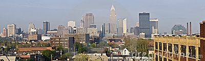 XXXL Panorama of Cleveland