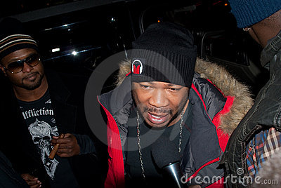 Xzibit in Moscow Editorial Stock Photo