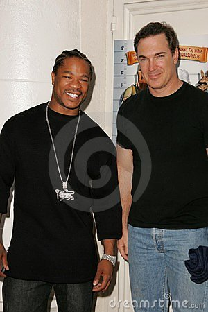 Xzibit, Patrick Warburton Editorial Stock Image