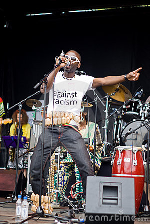 Yaaba Funk in Concert. Editorial Photo