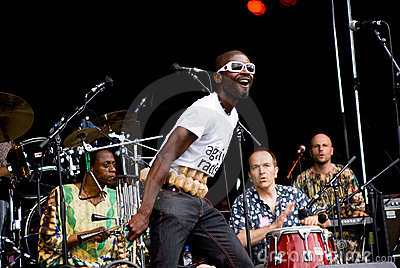 Yaaba Funk in Concert. Rise Fe Editorial Stock Photo