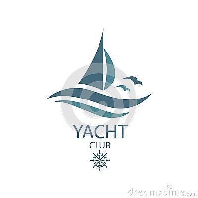 Free Yacht And Waves Icon Stock Photo - 103677770