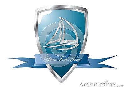 yacht club emblem
