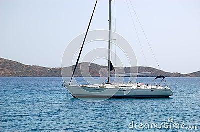 Yacht della vela di ricreazione