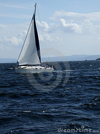 Free Yacht In Ocean Royalty Free Stock Photo - 2245805