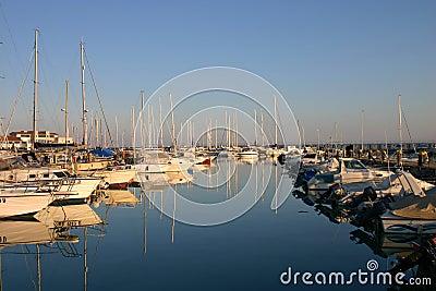 Yacht port