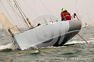 Yacht race at regatta