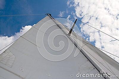 Yacht sail hor