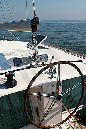 Free Yacht Steering Stock Photo - 919320