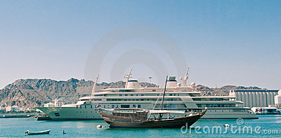 Yacht of the Sultan of Oman