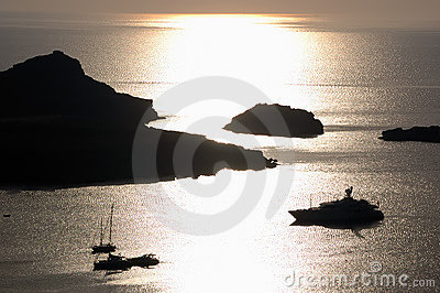 Yacht Sunrise Royalty Free Stock Photos - Image: 2671568