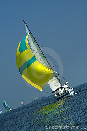Free Yacht The Winner Stock Photos - 986833