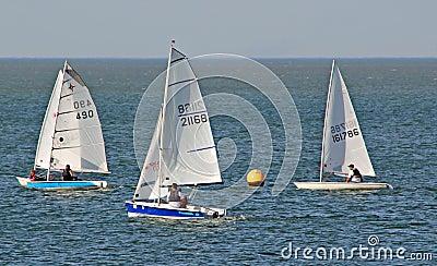 Yachting regatta race Editorial Photo
