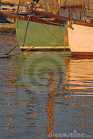 Free Yachts And Reflections Stock Photography - 411222