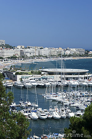 Free Yachts Cannes Marina South Of France Riviera Royalty Free Stock Images - 6546379