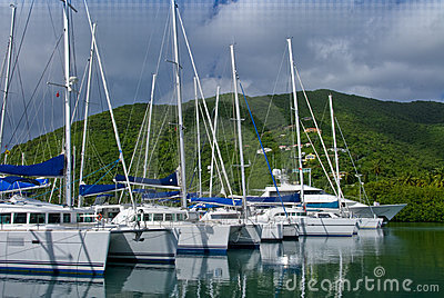 Yachts and catamarans
