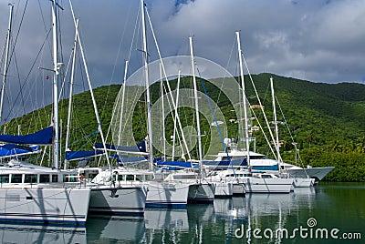 Yachts and catamarans