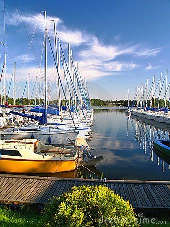 Yachts harbour