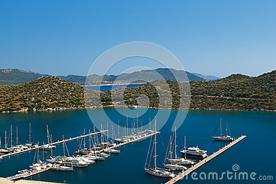Yachts in Kas Turkey