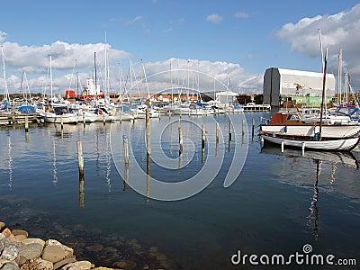 Yachts marina Assens Denmark