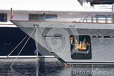 Yachts in Monaco Harbour