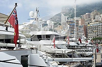 Yachts at Monaco