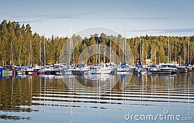 Yachts and pleasure boats