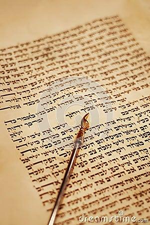 Yad and Torah Scroll
