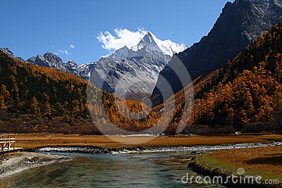 Yading National Reserve, China