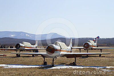 YAK-52 Editorial Stock Image