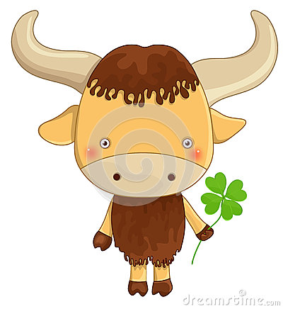Yak cartoon character
