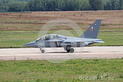 Yakovlev Yak-130 (NATO reporting name: Mitten) Editorial Photography