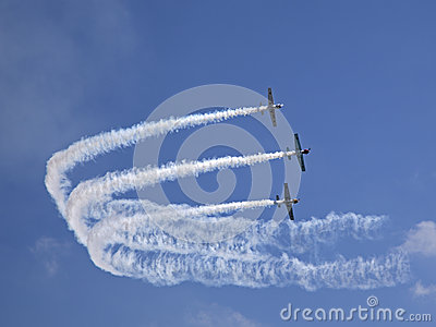 Yaks aerobatics team Editorial Photography