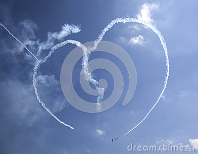 Yaks aerobatics team Editorial Image