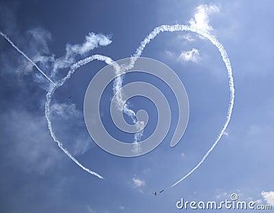 Yaks aerobatics team Editorial Image